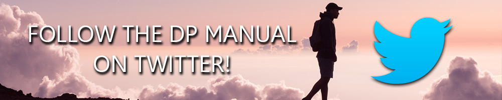 Follow the DP Manual on Twitter